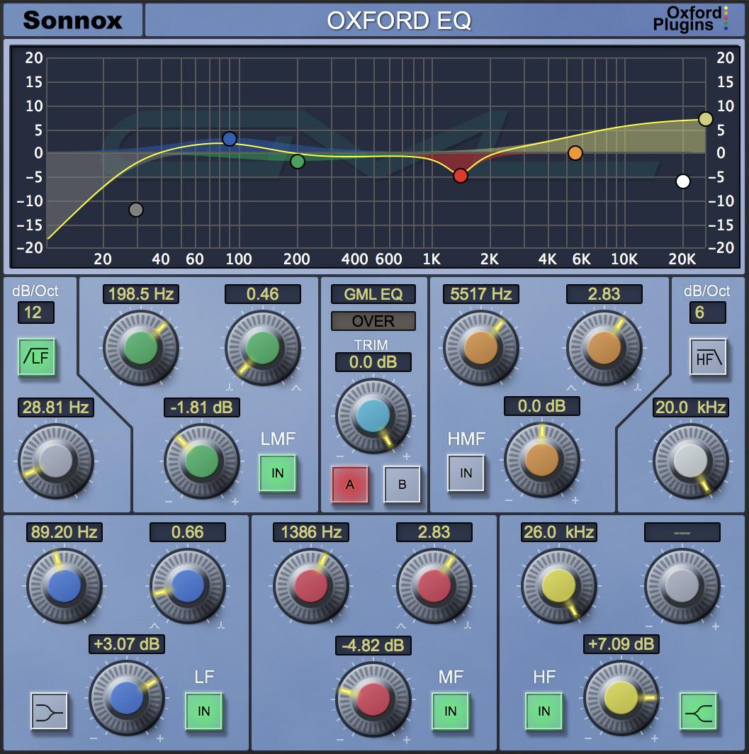 Sonnox EQ GML v3